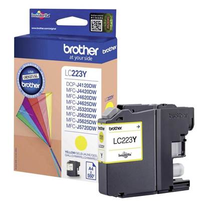 Brother Μελάνι Inkjet LC-223 Yellow (LC-223Y)