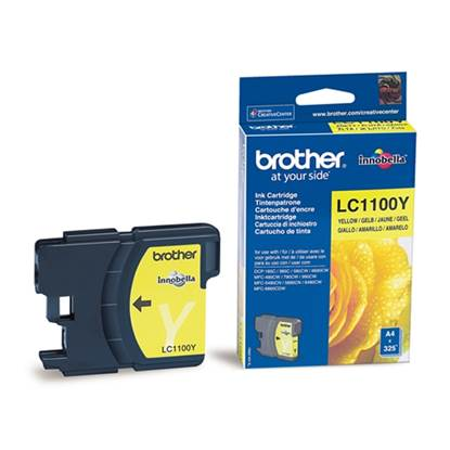 Brother Μελάνι Inkjet LC-1100Y Yellow (LC-1100Y)