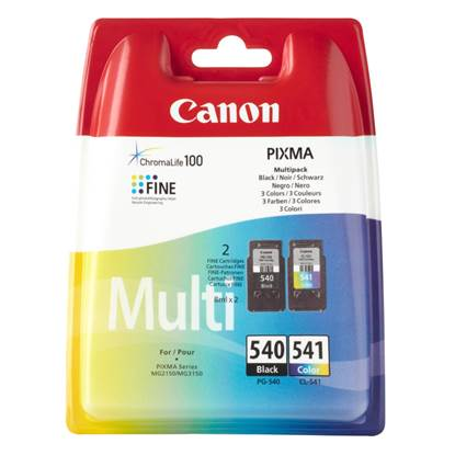 Canon Μελάνι Inkjet PG 540 & CL 541 Black & Colour (5225B006)