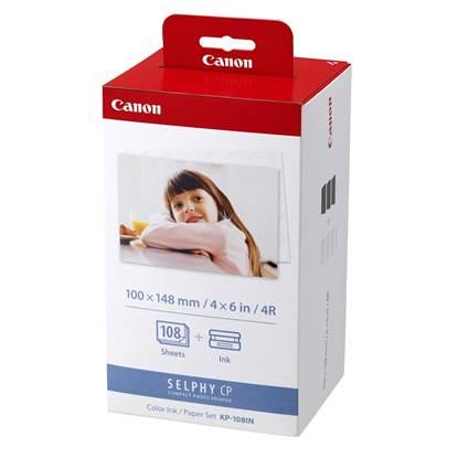 Canon Μελάνι Inkjet KP-108IN Photo Pack +PH.PAP.10x15 (3115B001)