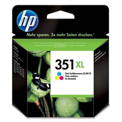 HP Μελάνι Inkjet Nο.351XL Colour (CB338EE)