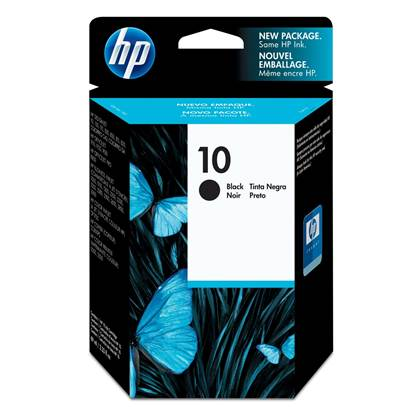 HP Μελάνι Inkjet No.10 HC Black (C4844A)