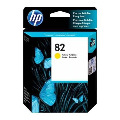 HP Μελάνι Inkjet No.82 Yellow (CH568A)