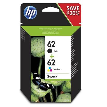 HP Μελάνι Inkjet No.62 Multipack (N9J71AE)