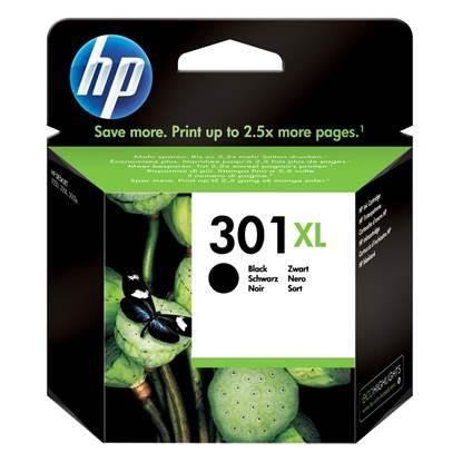 HP Μελάνι Inkjet No.301XL Black (CH563EE)