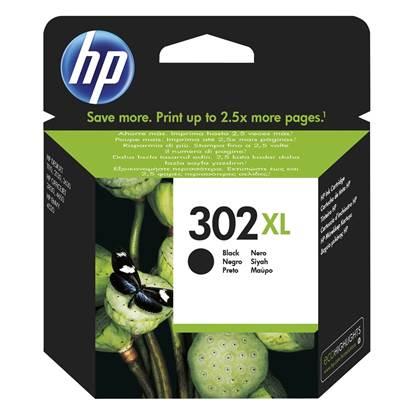 HP Μελάνι Inkjet No.302 XL Black (F6U68AE)