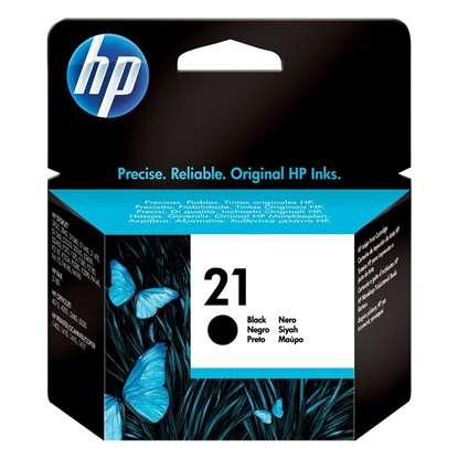 HP Μελάνι Inkjet No.21 Black (C9351AE)