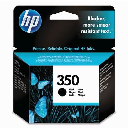 HP Μελάνι Inkjet Nο.350 Black (CB335EE)