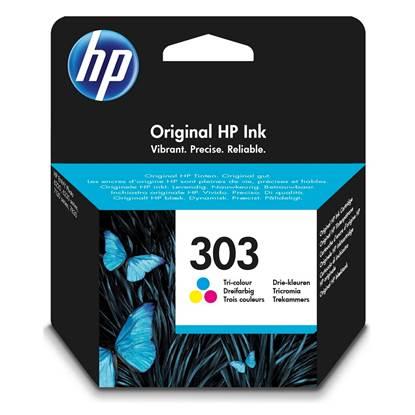 HP Μελάνι Inkjet No 303 Tri-colour (T6N01AE)