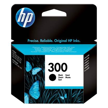 HP Μελάνι Inkjet Nο.300 Black (CC640EE)