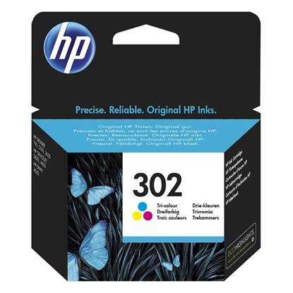 HP Μελάνι Inkjet No.302 Tri-colour (F6U65AE)