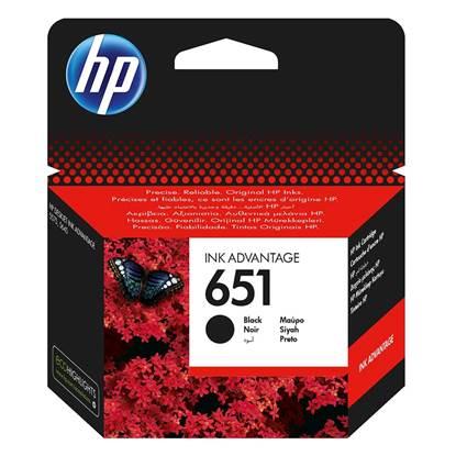 HP Μελάνι Inkjet No.651 Black (C2P10AE)