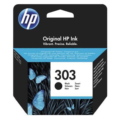 HP Μελάνι Inkjet No 303 Black (T6N02AE)
