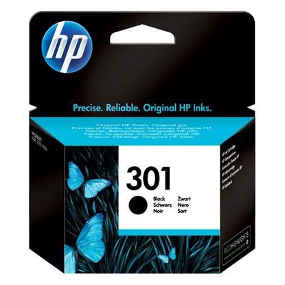 HP Μελάνι Inkjet No.301 Black (CH561EE)