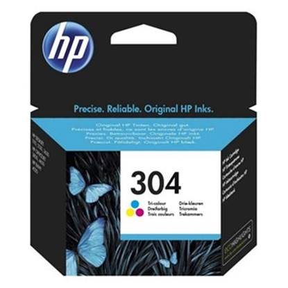 HP Μελάνι Inkjet No.304 Tri-colour (N9K05AE)