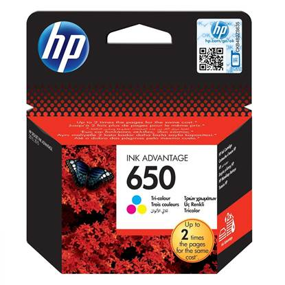 HP Μελάνι Inkjet No.650 Colour (CZ102AE)