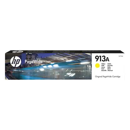 HP Μελάνι Inkjet 913A Yellow (F6T79AE)
