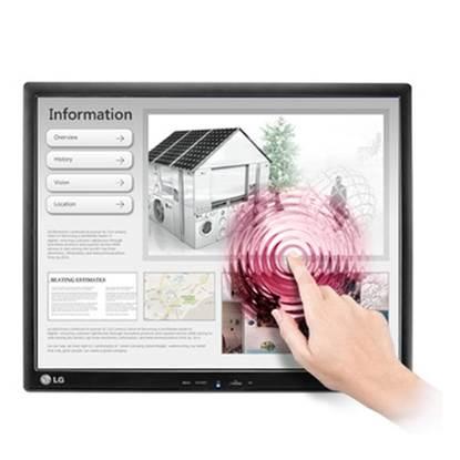 LG LCD Οθόνη 17'' Touch (17MB15T-B)