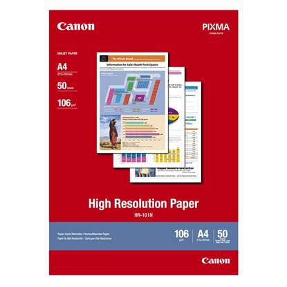 High Resolution Paper CANON A4 110g/m² 50 Φύλλα (1033A002)