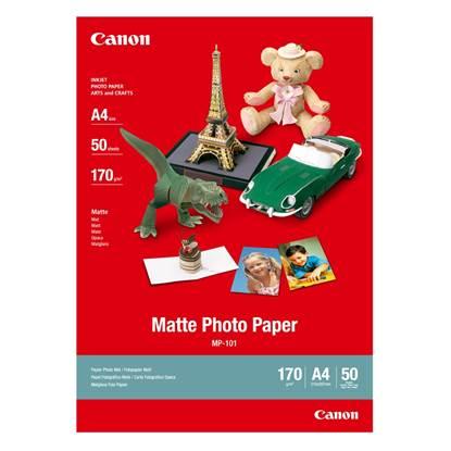 Φωτογραφικό Χαρτί CANON A4 Matte 170g/m² 50 Φύλλα (7981A005)