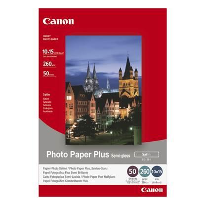 Φωτογραφικό Χαρτί CANON A6 Semi Gloss 260g/m² 50 Φύλλα (1686B015)