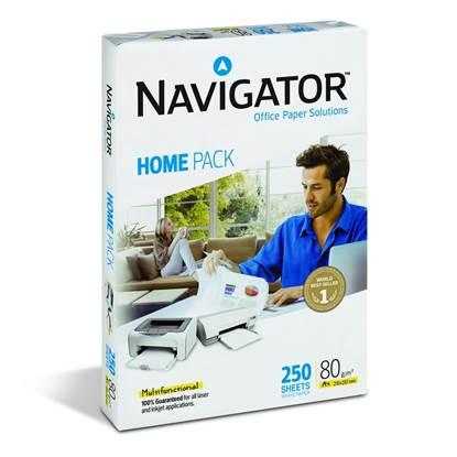 Επαγγελματικό Χαρτί Εκτύπωσης Navigator (Home Pack) A4 80g/m² 250 Φύλλα