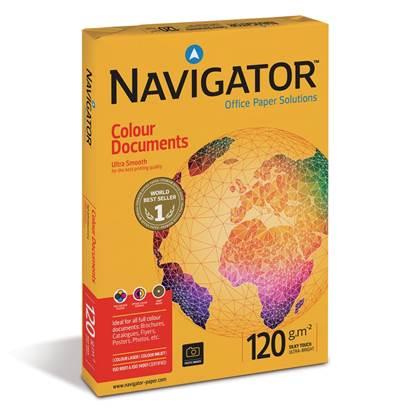 Επαγγελματικό Χαρτί Εκτύπωσης Navigator (Colour Documents) A4 120g/m² 250 Φύλλα