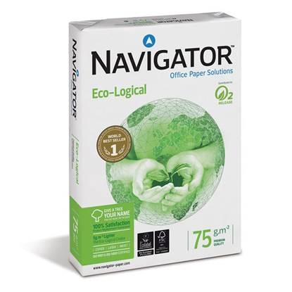 Επαγγελματικό Χαρτί Εκτύπωσης Navigator (Eco-Logical) A4 75g/m² 500 Φύλλα