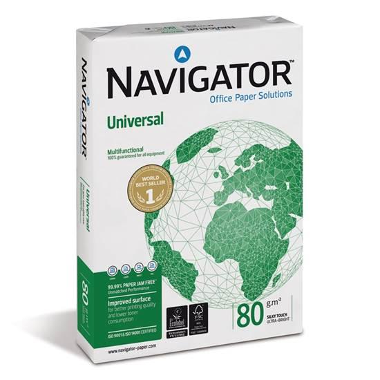 Επαγγελματικό Χαρτί Εκτύπωσης Navigator A4 80g/m² 500 Φύλλα