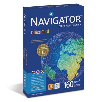 Επαγγελματικό Χαρτί Εκτύπωσης Navigator (Office Card) A4 160g/m² 250 Φύλλα