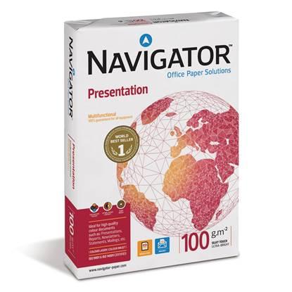 Επαγγελματικό Χαρτί Εκτύπωσης Navigator (Presentation) A4 100g/m² 500 Φύλλα