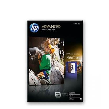 HP Advanced Glossy Photo Paper 250 g/m²-10 x 15 Borderless (100sh)
