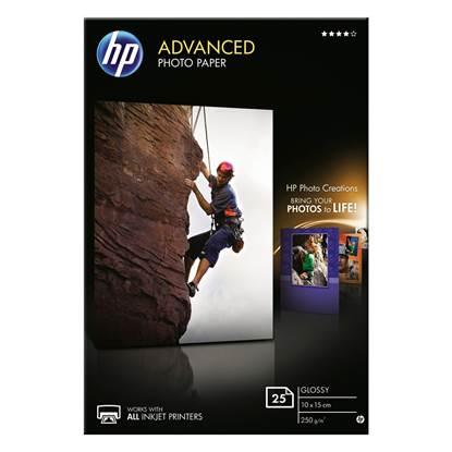 Φωτογραφικό Χαρτί HEWLETT PACKARD A6 Glossy 250g/m² 25 Φύλλα (Q8691A)