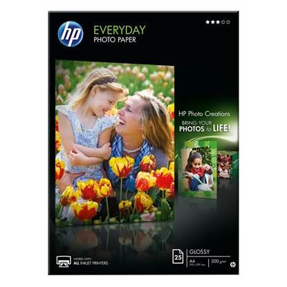 Φωτογραφικό Χαρτί HEWLETT PACKARD A4 Glossy 200g/m² 25 Φύλλα (Q5451A)