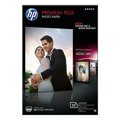 Φωτογραφικό Χαρτί HEWLETT PACKARD 10 x 15 cm Glossy 25 Φύλλα (CR677A)