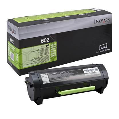 LEXMARK MX310/410/510/511/611 TONER LOW YIELD BLACK (602) RETURN SC 2.5k (60F2000)