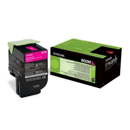 Toner Lexmark 80C20M0 Magenta (80C20M0)