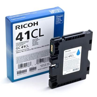 RICOH GC 41CL GEL INK CYAN 600p (GC-41CL)  (405766)