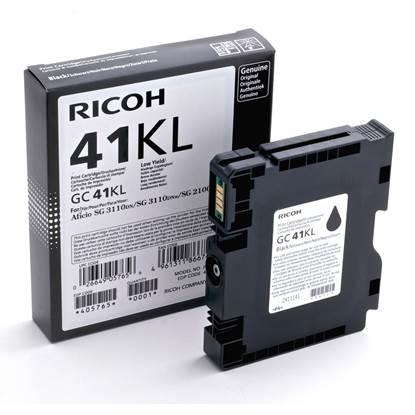 RICOH GC 41KL GEL INK BLACK 600p (GC-41KL)  (405765)