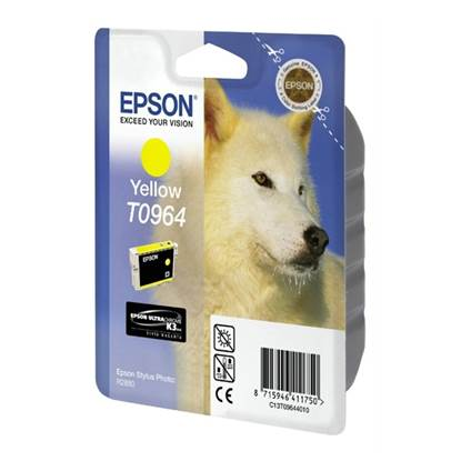 Epson Μελάνι Inkjet T0964 Yellow (C13T09644010)