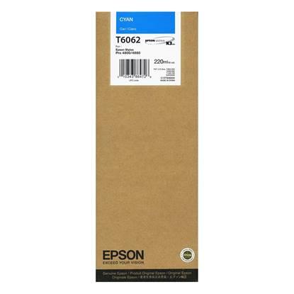 Epson Μελάνι Inkjet T6062 Cyan (C13T606200)