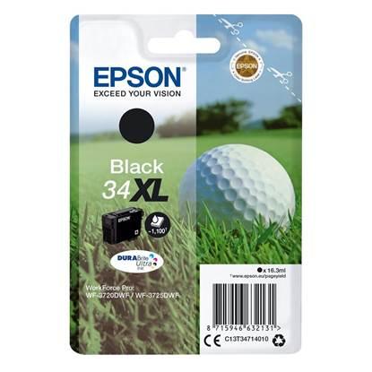 Epson Μελάνι Inkjet No.34XL Black (C13T34714010)