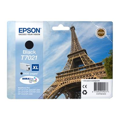 Epson Μελάνι Inkjet T7021 XL Black (C13T70214010)