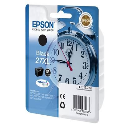 Epson Μελάνι Inkjet Series 27 XL Black (C13T27114012)