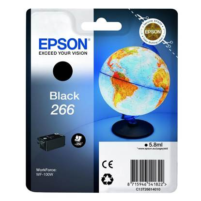 Epson Μελάνι Inkjet Series 266 Black  (C13T26614010)