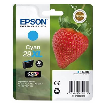 Epson Μελάνι Inkjet Series 29 Cyan XL (C13T29924012)