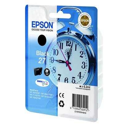 Epson Μελάνι Inkjet Series 27 Black (C13T27014012)