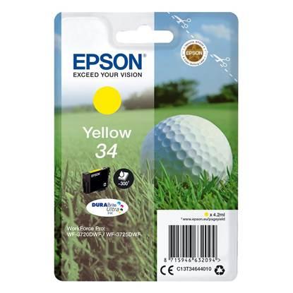 Epson Μελάνι Inkjet No.34 Yellow (C13T34644010)