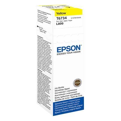 Epson Μελάνι Inkjet Bottle 70ml Yellow (C13T67344A)