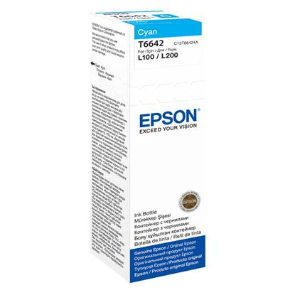 Epson Μελάνι Inkjet Bottle Cyan (C13T66424A)
